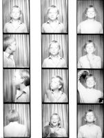 Brian in a photo booth